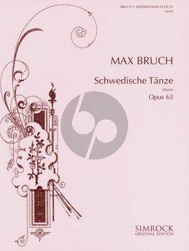 Bruch Swedish Dances Op.63 Piano Solo