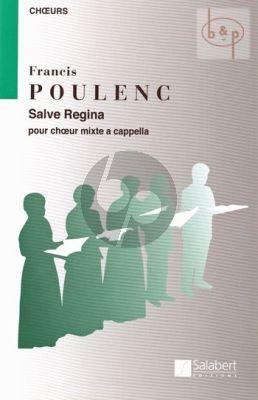 Salve Regina SATB