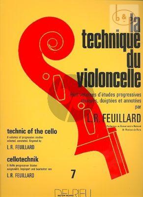 Technique du Violoncelle Vol.7