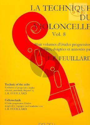 Technique du Violoncelle Vol.8