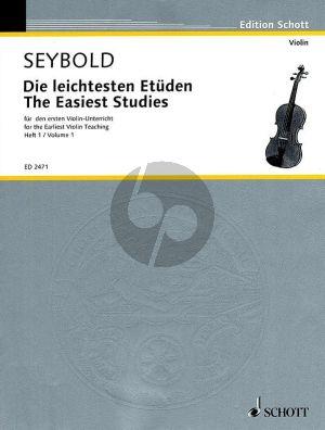 Die Leichtesten Etuden fur den ersten Violin-Unterricht Vol.1