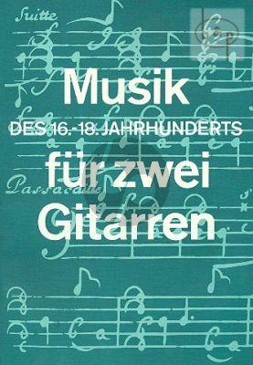 Musik des 16 - 18 Jahrh. nach Tabulaturen