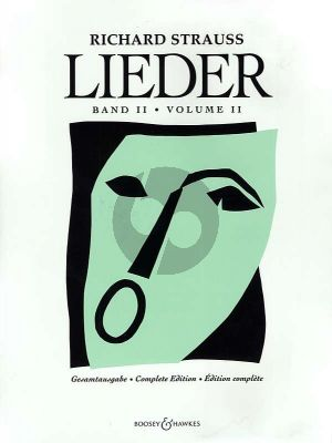Strauss Lieder Complete Edition Vol.2 Voice and Piano (Edited by Franz Trenner)