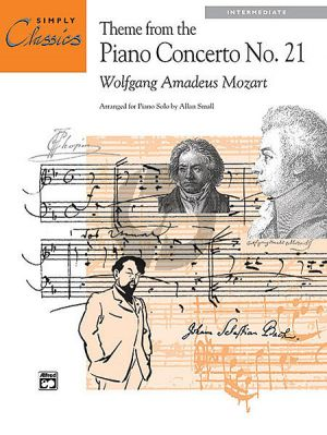 Mozart Theme Piano Concerto No.21 KV 467 (Simply Classic ) (Alan Small)