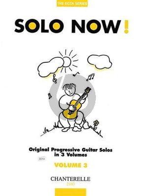 Solo Now Vol. 3 Guitar (The EGTA Series)