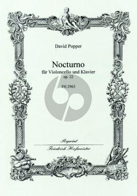Popper Nocturne Op.22 Violoncello-Klavier