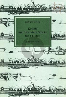 Kobold und 12 andere Stucke (4 Flutes)