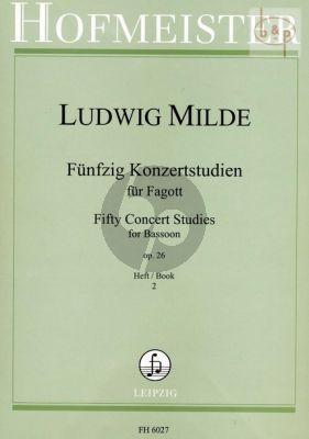 50 Konzertetuden Op.26 Vol.2