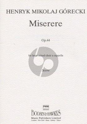 Miserere Op.44 SSAATTBB