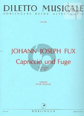 Capriccio und Fuge g-moll KV 402 Cembalo