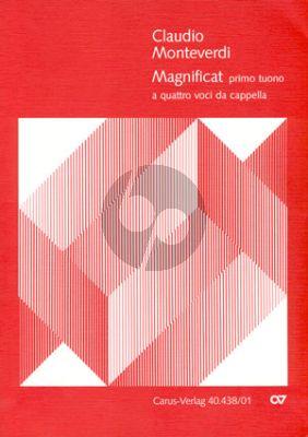 Monteverdi Magnificat Secundo (Selva morale et spirituale 164o) SATB(SAABar)-Bc