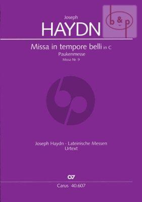 Missa in Tempore Belli (Paukenmesse) Hob.XXII:9 (Soli-Choir-Orch.) (Full Score)