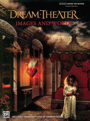 Dream Theater Images & Words (Authentic Guitar-TAB Edition Includes Compete Solos)
