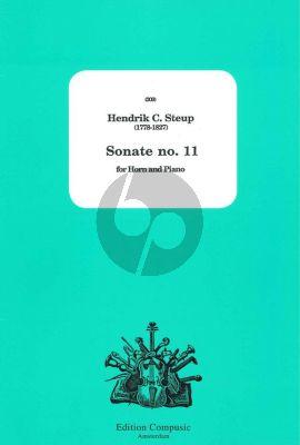 Steup Sonate No.11 (Horn[Eb]-Piano) (Louise Schepel)
