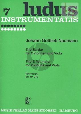 Trio E-flat major (2 Violins-Viola)