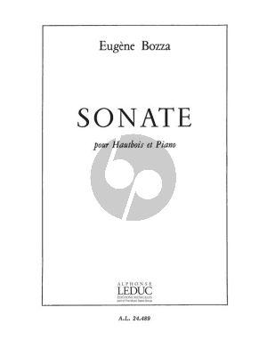 Bozza Sonate pour Hautbois et Piano