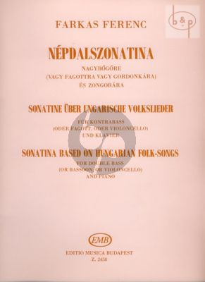 Sonatina Double Bass or Cello / Bassoon and Piano