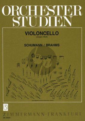 Orchesterstudien Violoncello (Schumann-Brahms)