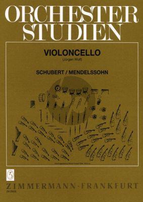 Orchesterstudien Violoncello