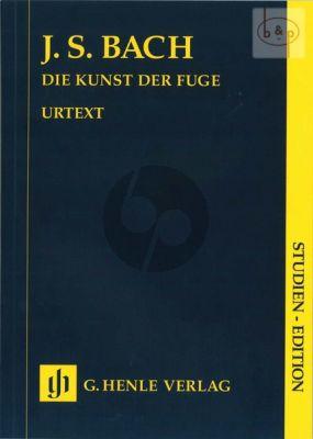 Die Kunst der Fuge BWV 1080 (Harpsichord) (Study Score)