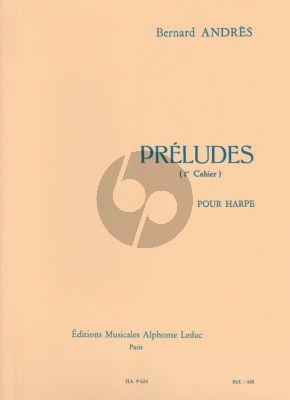 Andres Preludes Vol. 1 No. 1 - 5 Harpe (interm.level)