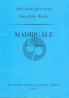 Gesualdo Madrigale Vol.4 Mixed Voices
