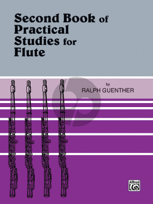 Guenther Second Book of Practical Studies for Flute