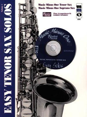 Easy Tenor Sax Solos Vol.1 (Bk-Cd) (MMO Student Series)