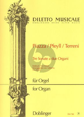 3 Sonaten a due Organi