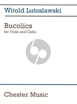 Lutoslawski Bucolics Viola and Violoncello
