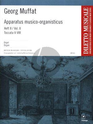 Muffat Apparatus Musico-Organisticus Vol.2 Toccata V-VIII (Critical Edition M. Radulescu)