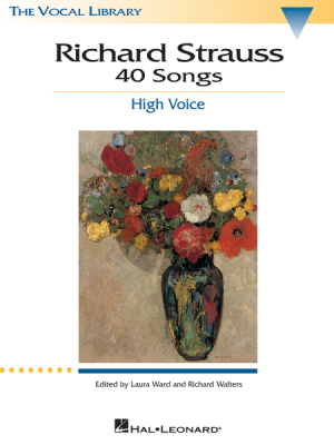 Strauss 40 Songs High Voice (Ward-Walters-Lear)