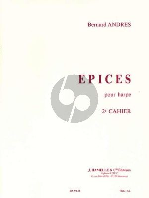 Andres Epices Vol.2 pour Harpe (interm.level)