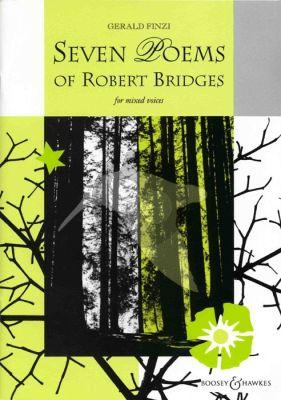 Finzi 7 Poems of Robert Bridges Op.17 SATB