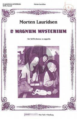 Lauridsen O Magnum Mysterium SATB