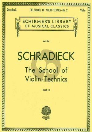 Schradieck School of Violin Technics Vol. 2