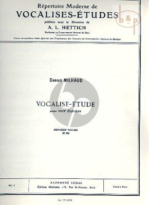 Vocalise-Etude Op.105