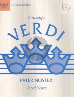 Pater Noster (SSATB) (Vocal Score)