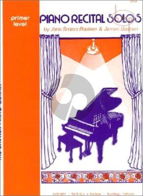 Piano Recital Solos Primer Level
