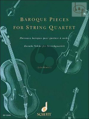 Baroque Pieces for String Quartet