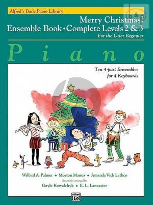 Merry Christmas Ensemble Book Complete Level 2 / 3