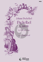 Pachelbel Canon Viola-Piano (arr. Daniel Dorff)