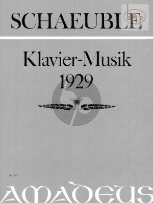 Klavier-Musik 1929 Op.5