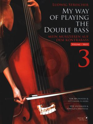 Streicher Mein Musizieren auf dem Kontrabass Vol. 3 (deutsch/englisch)