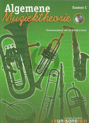 Maas-Eijnden Algemene Muziektheorie Examen C (Theoriewerkboek voor de HaFaBra Sector) (Bk-Cd)