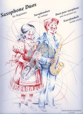 Saxophone Duets for Beginners (edited by Éva and Peter Perenyi)