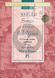 10 Folk Songs for Solo Voice (Med.Low)