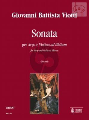Sonata Harp with Violin (ad lib.)