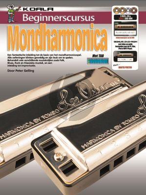 Gelling Beginnerscursus Mondharmonica (Bk-CD-DVD)