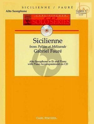 Sicilienne (from Pelleas & Melisande) (Bk-Cd)
